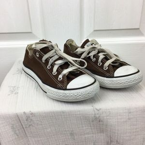 Converse Shoes - 🌷3 for $30 Brown Converse Allstar Casual Shoe